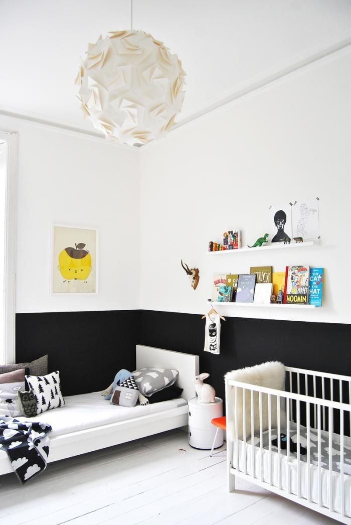 ikea malm bed white kids room