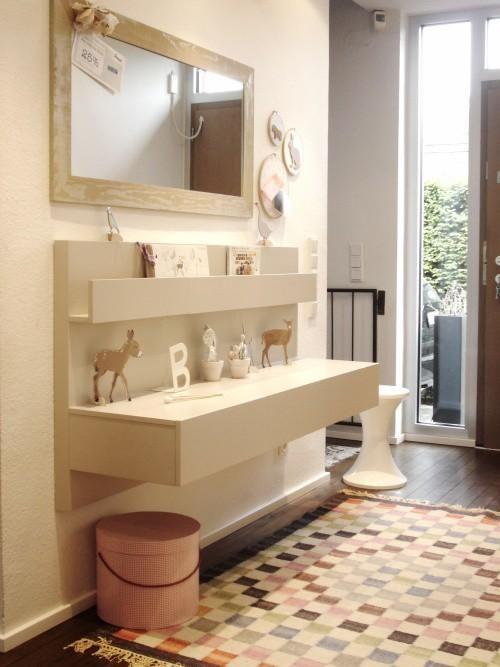ikeahack malm nightstands hallway