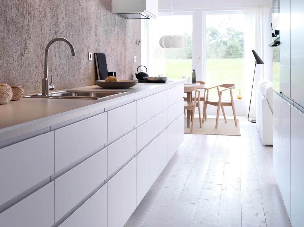 ikea metod witte keuken