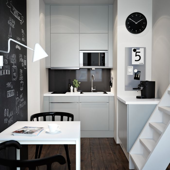 ikea metod small kitchen