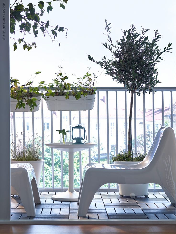 ikea ps vago white balcony