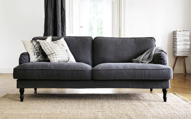 stocksund couch grey