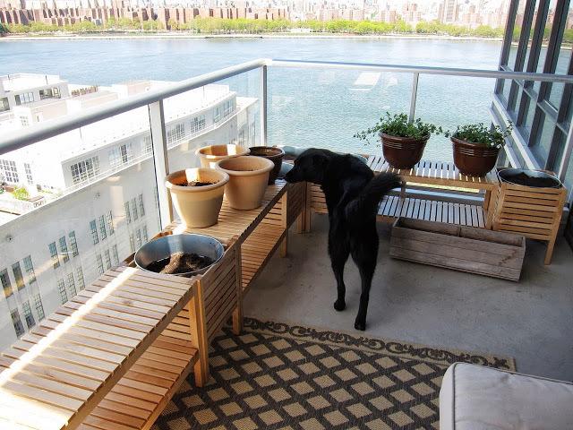 ikea stocker holger balkon