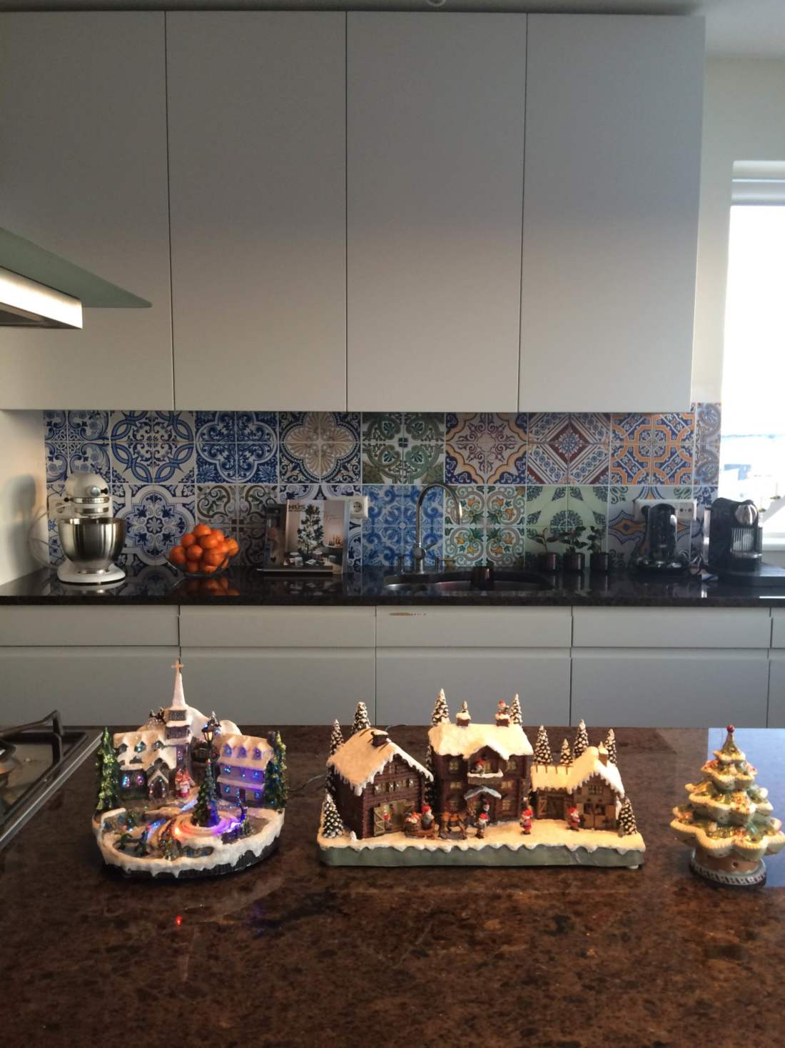 kitchenwalls achterwand behang portugal klant