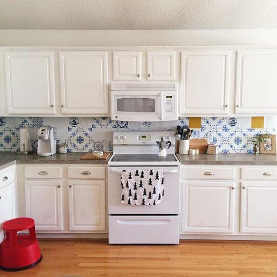 kitchenwalls keukenbehang golden age klant usa