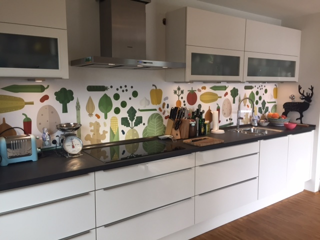 kitchenwalls keukenbehang veggies