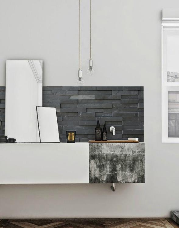 kitchen walls pimp your kitchen slate tiles backsplash wallpaper