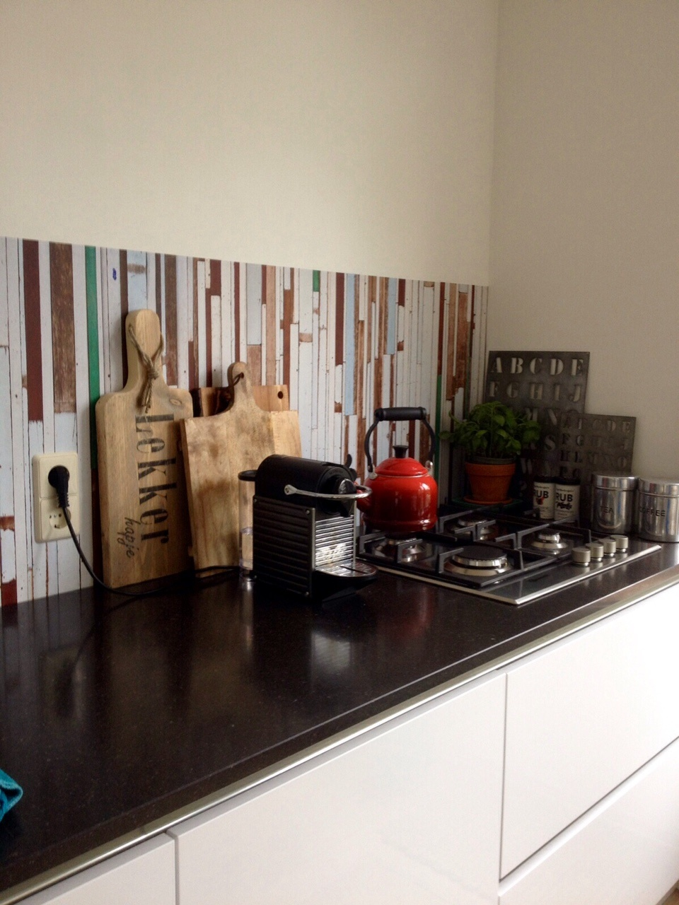 kitchenwalls happy customer behang sloophout