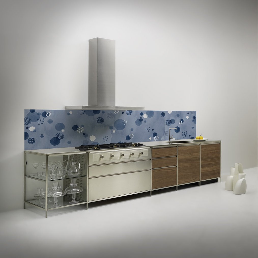 kitchenwalls backsplash wallpaper valesca van waveren design