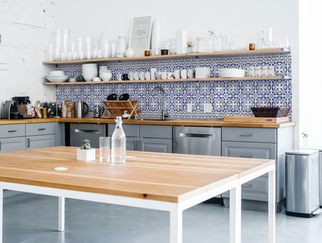 kitchenwalls papier peint cuisine delft
