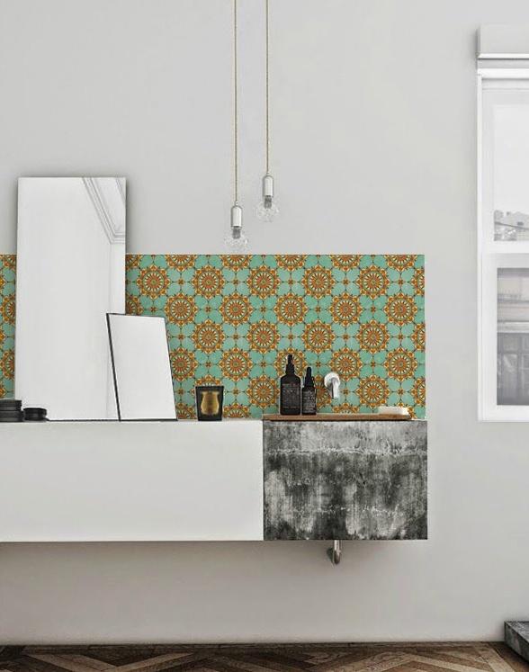 kitchenwalls keukenbehang badkamer ibiza