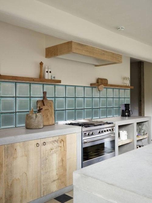 kitchenwalls keukenbehang glas