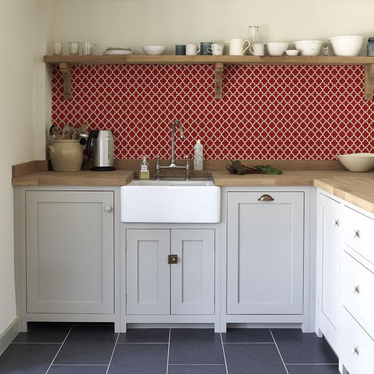 kitchenwall backsplash wallpaper_oriental_classic kitchen