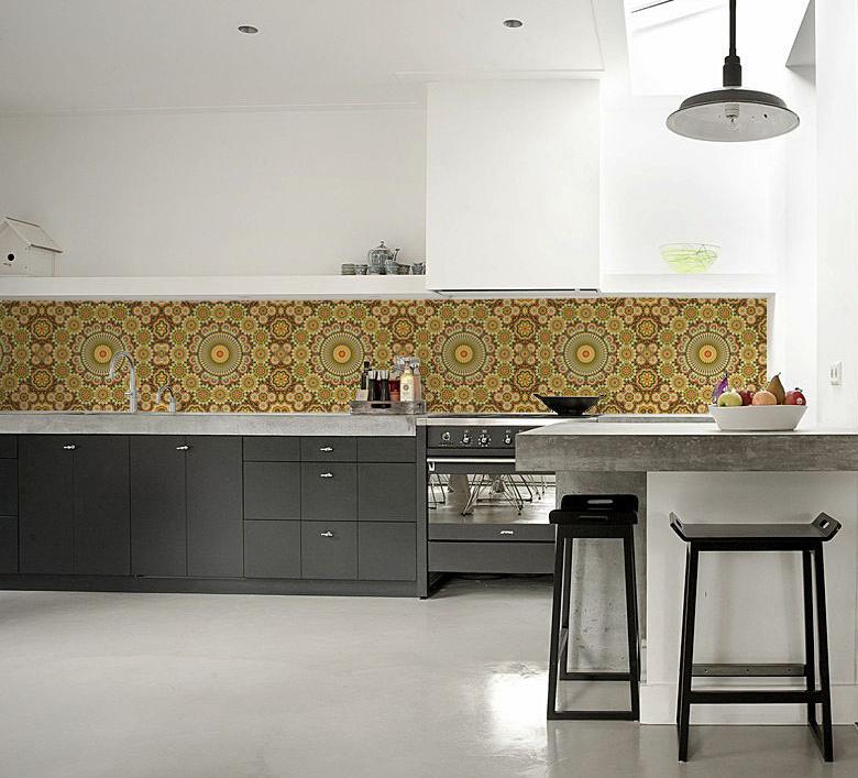 kitchenwalls keukenbehang maroc retro