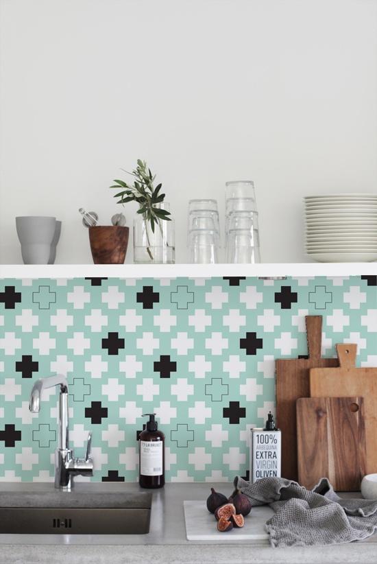 kitchenwalls keukenbehang detail