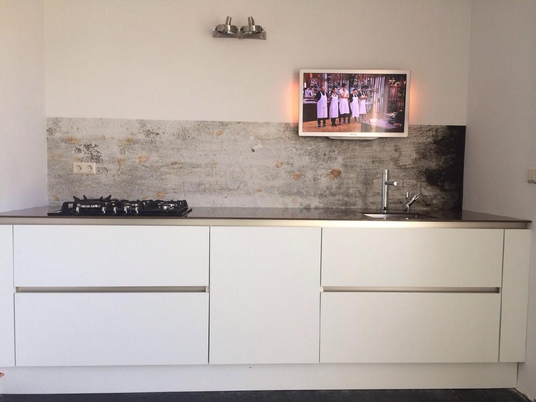 kitchenwalls keukenbehang betonlook
