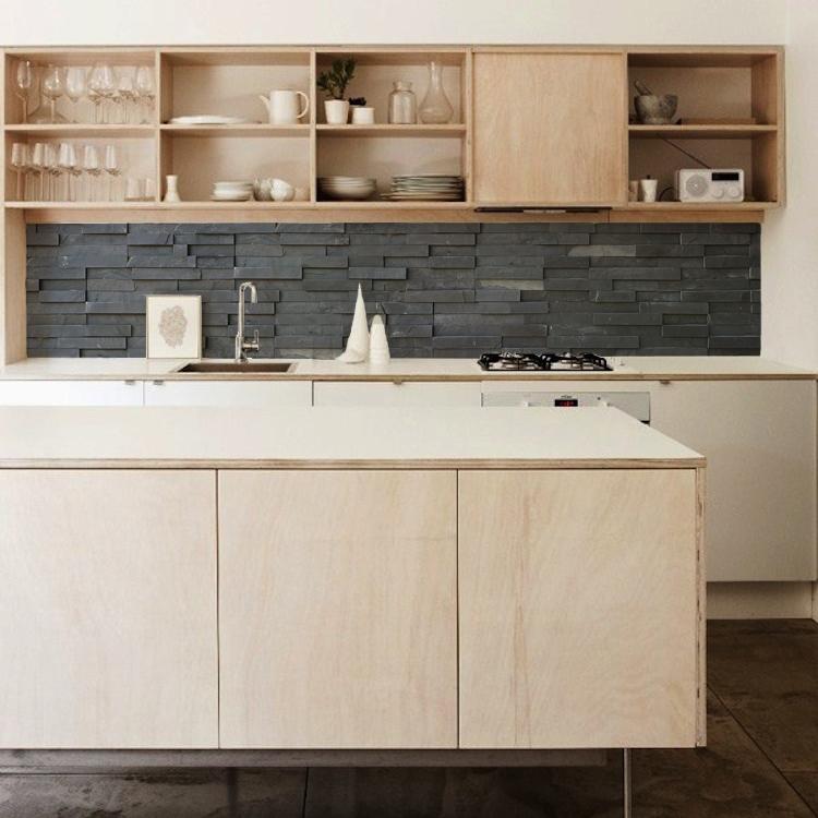 kitchenwalls tapete kuche leisteen