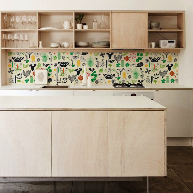 design collection kitchenwalls kuchen tapete
