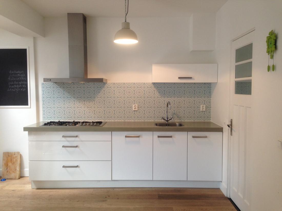 kitchenwalls keukenbehang retro green