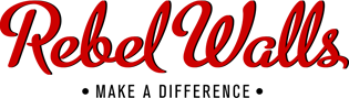 Rebel Walls murals logo