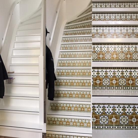 stairs sticker lisboa behangfabriek