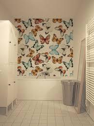 badkamerbehang vlinders Sterk-design