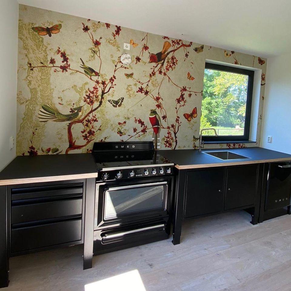 the big easy modular kitchen behangfabriek