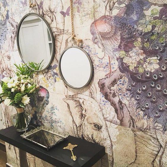 tres tintas wallpaper cochin
