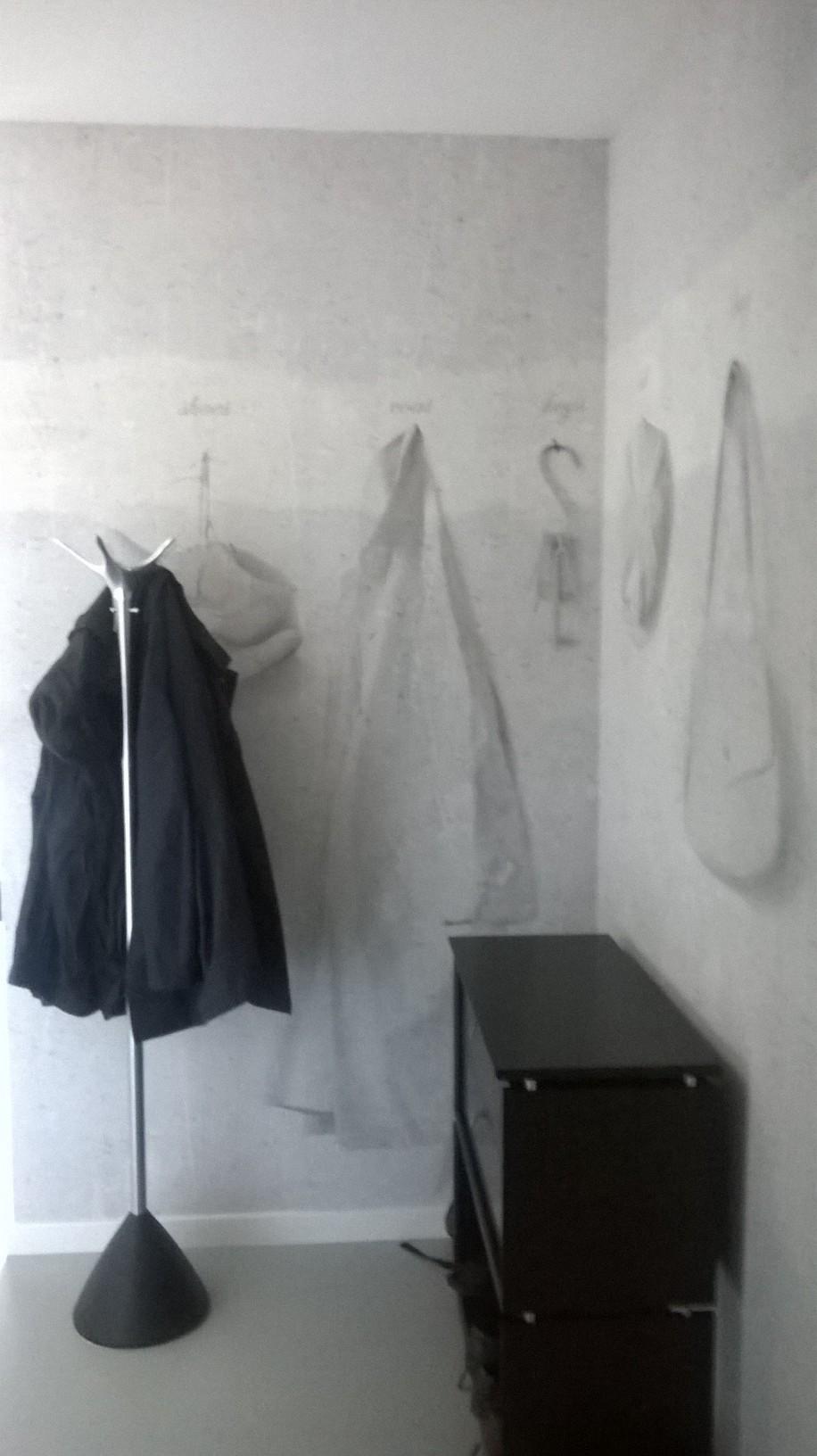wall and deco designbehang rene kapstok