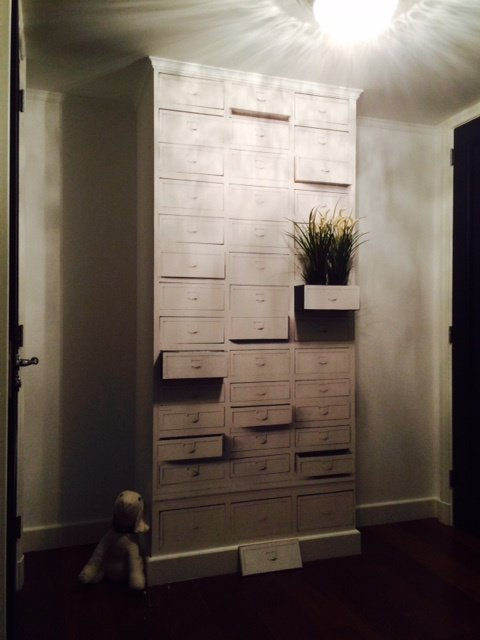 wall and deco behang in mind klant laatjes