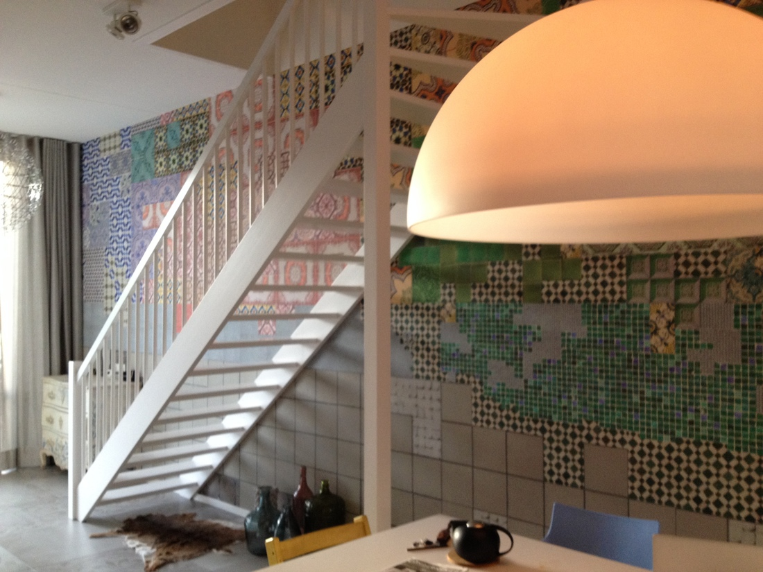 wall and deco tell me tiles happy customer amsterdam
