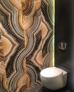 wall and deco wet afrique toilet