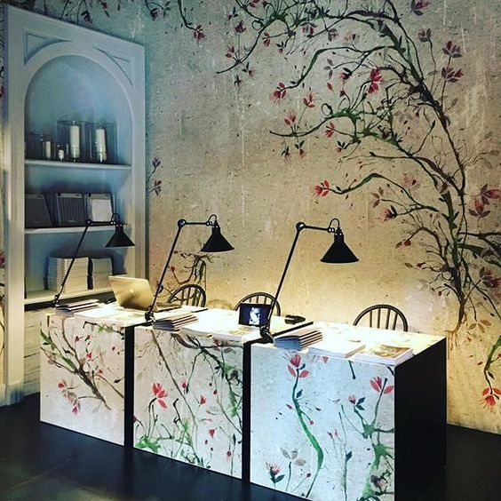 wall and deco badezimmer tapete new romantic