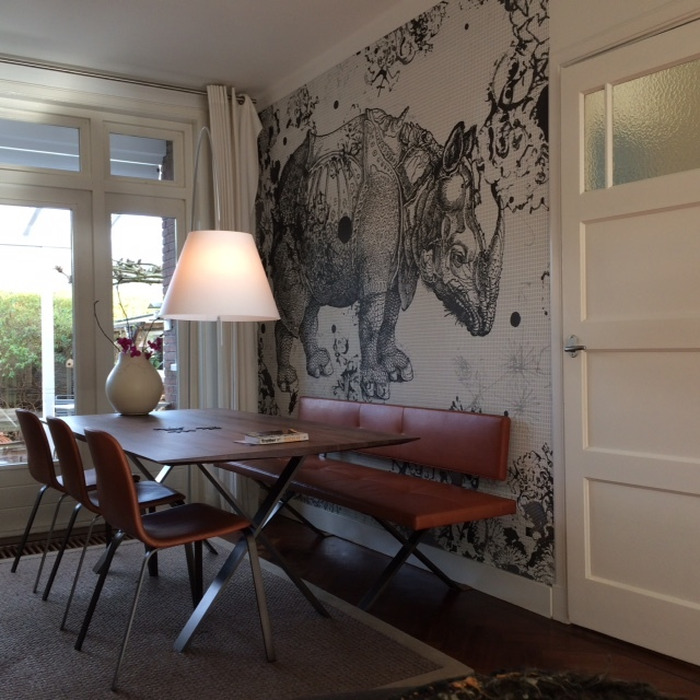 wall and deco wunderkammer klant designbehang