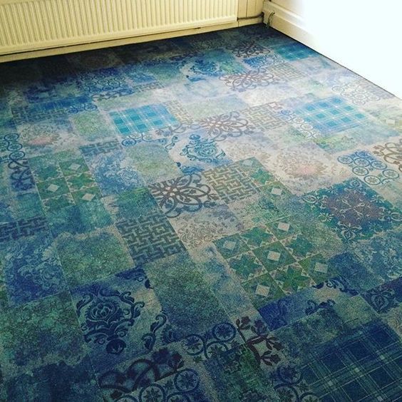 yo2 carpet tiles bedroom