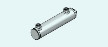 HM0PM Dubbel werkend Cilinder Standaard P350