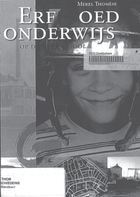 Reader - Geschiedenis - module veldwerk VR1 DT1