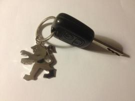 Sleutelhanger Peugeot logo