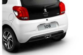 Diffusor met centrale uitlaatmond Peugeot 108