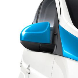 Spiegelkapset kleur Toyota Aygo
