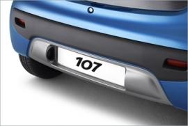Aluminium stylingset Peugeot 107