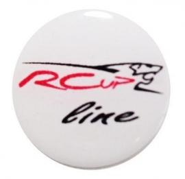 Toerentellerbadge RCup line Peugeot 107