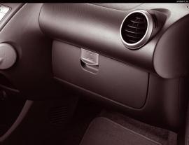 Dashboardklep Peugeot 107 2012-2014 (zwart)