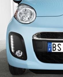 Mistlampenset Citroën C1 02-2012 tot 06-2014