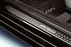 Instaplijstset Toyota Aygo 3DRS luxe