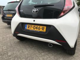 Uitlaatsierstuk Toyota Aygo