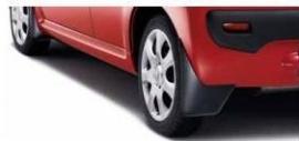 Spatlappen achterzijde Peugeot 107