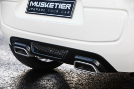 Achterbumperspoiler Peugeot 108 Musketier incl sierstukken