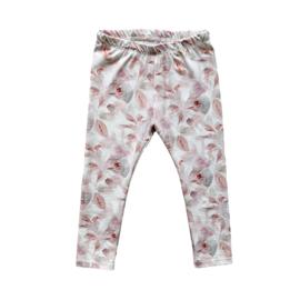 Legging • Pink Leaves