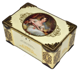 Vintage THORNE's Toffee tin with image of Lady Maria Conyngham